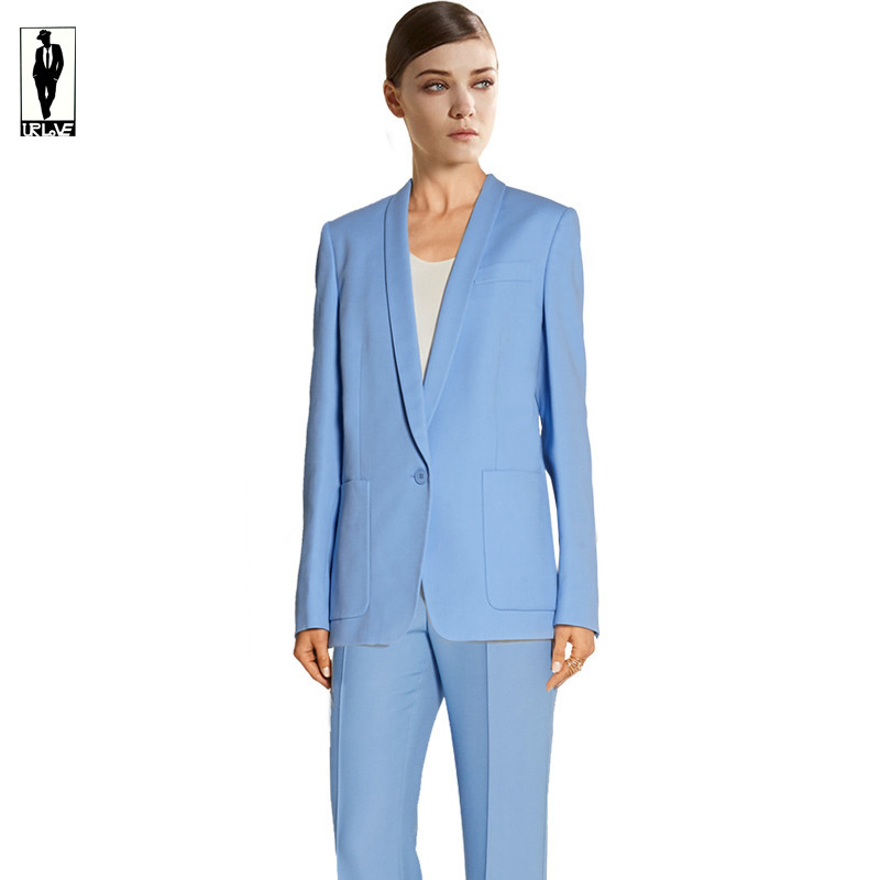 Popular Blue Pant Suit-Buy Cheap Blue Pant Suit lots from China