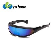 f77ea4735 Xmen الرجال النساء النظارات الشمسية X-الرجال شخصية الليزر نظارات بارد  الروبوتات نظارات شمسية القيادة مكبرة نظارات