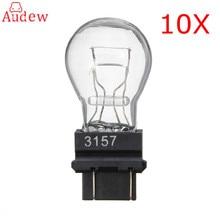 10 шт. 3157 яркий Лампочки тормоза кабеля резервного копирования Обратный S8 Сигнальные лампы поворотов