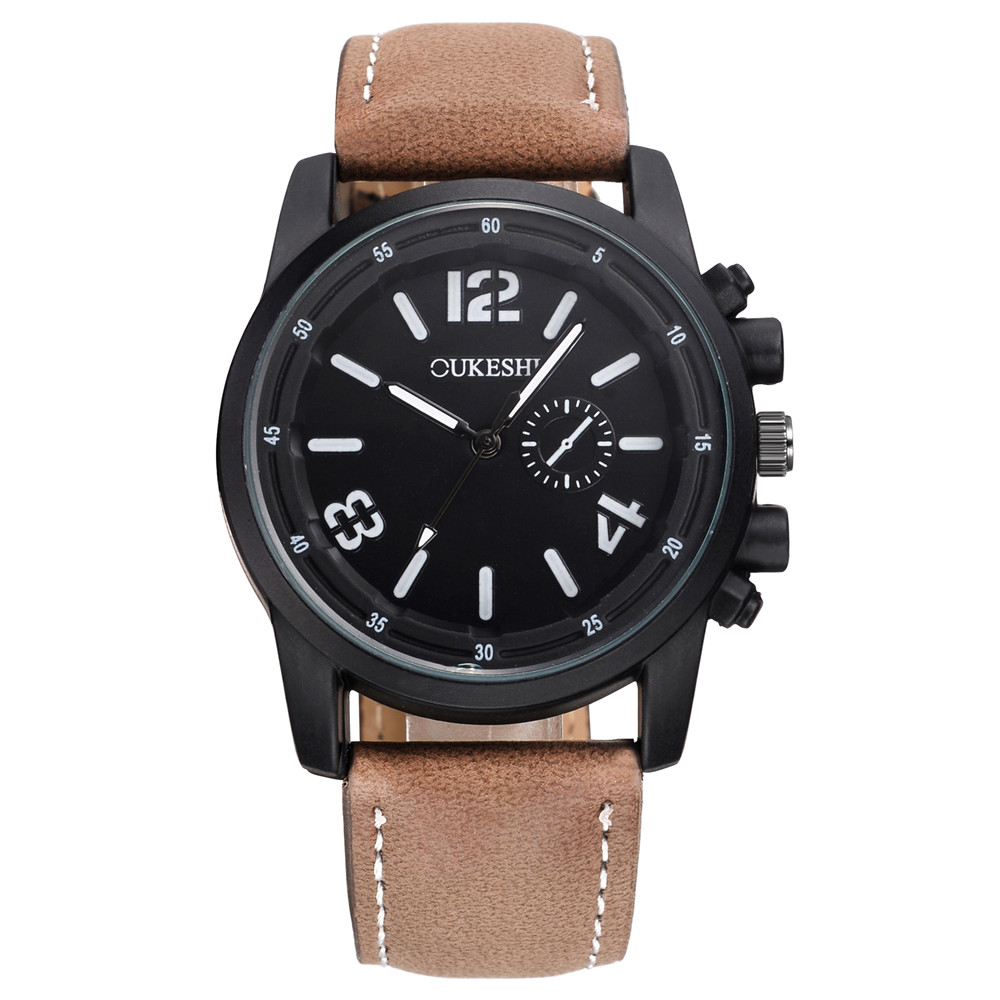 popular simple men watch buy cheap simple men watch lots from oukeshi brand simple men watches men casual leather quartz wristwatches relogio masculion montre homme relojes hombre