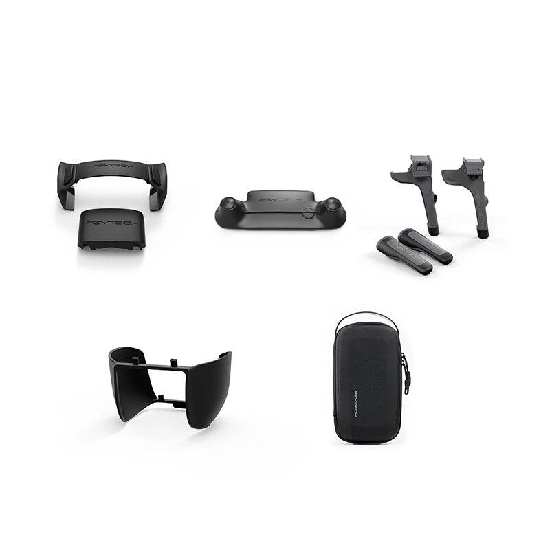 PGYTECH DJI Mavic 2 set accessoires train d'atterrissage & sac drone dji & protecteur de bâton de contrôle & pare-soleil pour drone mavic 2 PRO