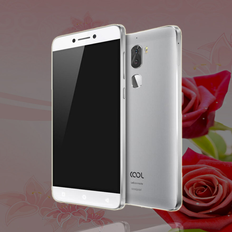 D'origine Letv Cool 1 Double Leeco Coolpad Cool1 Snapdragon 652 Mobile Téléphone 4 gb RAM 32 gb 5.5 13MP double Retour Caméras D'empreintes Digitales