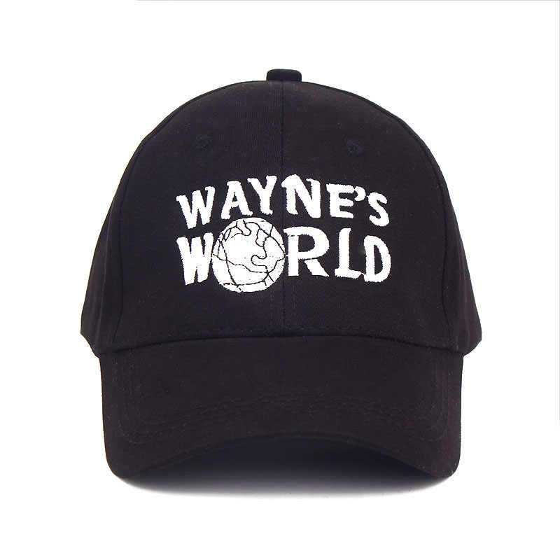 2699e64e23d ... Glaedwine High Quality Wayne s World Hat Costume Waynes World Baseball  Caps Unisex Earth Hats Embroidered Trucker ...