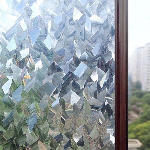Adaptable Funlife 3d Privacy Window Film No Glue Static Window Cling Glass Sticker Static Cling Vinyl Decorative Anti-uv Window Film Decorative Films
