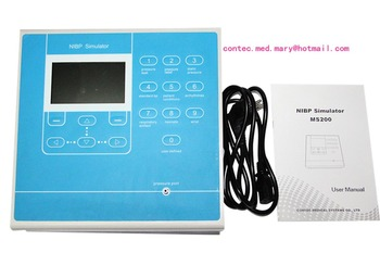 CONTEC MS200 NIBP Simulator Non-Invasive Blood Pressure simulation COLOR LCD 2020 4