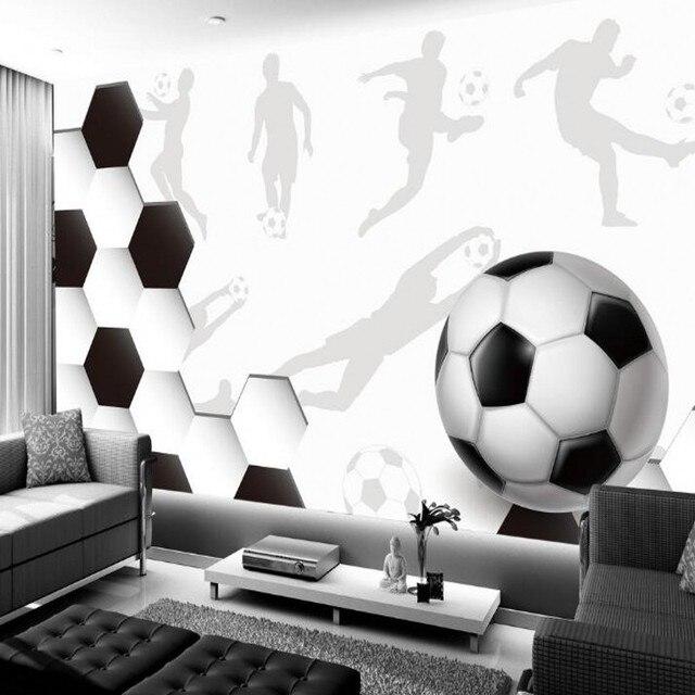 Beibehang fußball fototapete wand mural 3d tapeten leidenschaft für ...