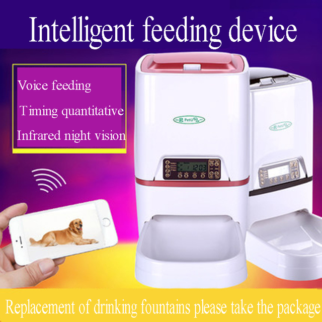 Pets Automatic Drinker Waterer Feeder Cat Food Dispensers Pet Dog BowlSlow Drinking Feeding Bowls Bol Chien Pet Supplies 50Z0615