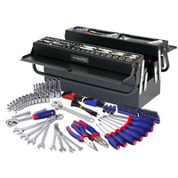 WORKPRO 183PC Tool Set Home Tool Kits Mechanic Tool Set Screwdriver Ratchet Spanner Wrench Set Sockets