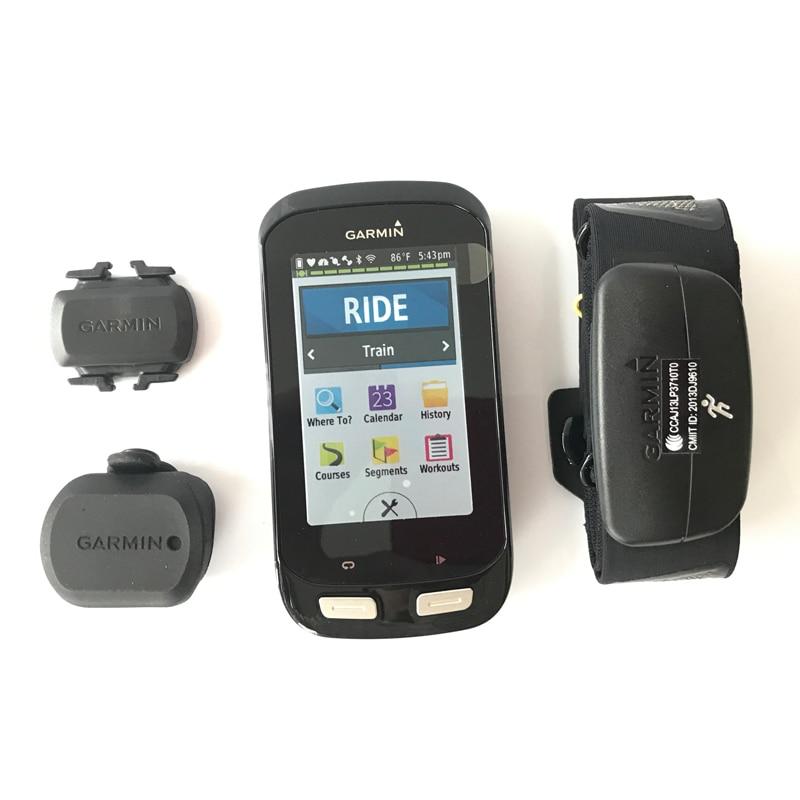 Garmin Edge 1000 <font><b>GPS</b></font> bike speedometer Cycle Computer Performance Bundle