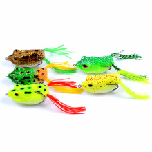Simulated thunder frog bionic bait 5.7cm/14g Outdoor sports fishing accessories 3D eye lure isca artificial