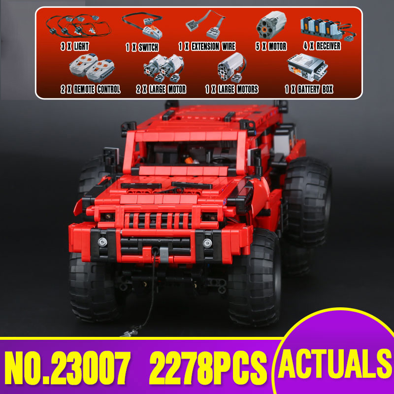 DHL 23007 Technic MOC Series The Marauder Set Children Building Blocks Bricks Toys Model Gift Compatible