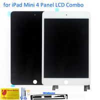 ALANGDUO For Apple IPad Mini 4 A1538 A1550 Apple Tablet LCD Display Combo With Touch Screen
