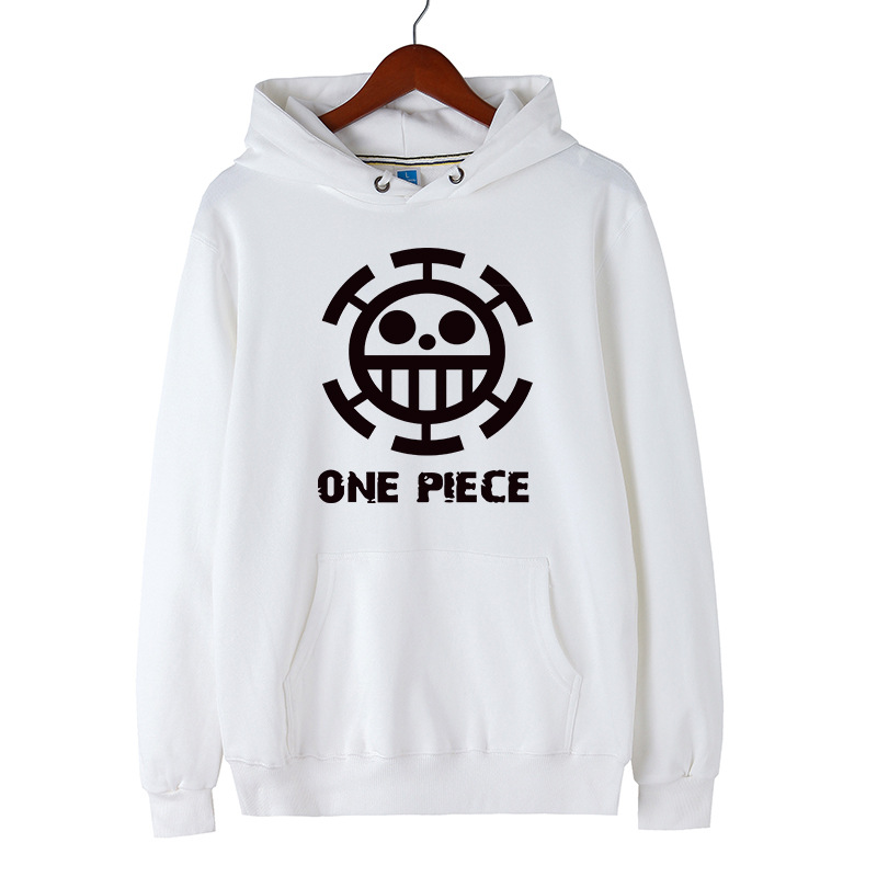 One Piece Luffy Hoodie Anime Sweatshirts: One Piece Luffy Pullover Hooded Hoodie