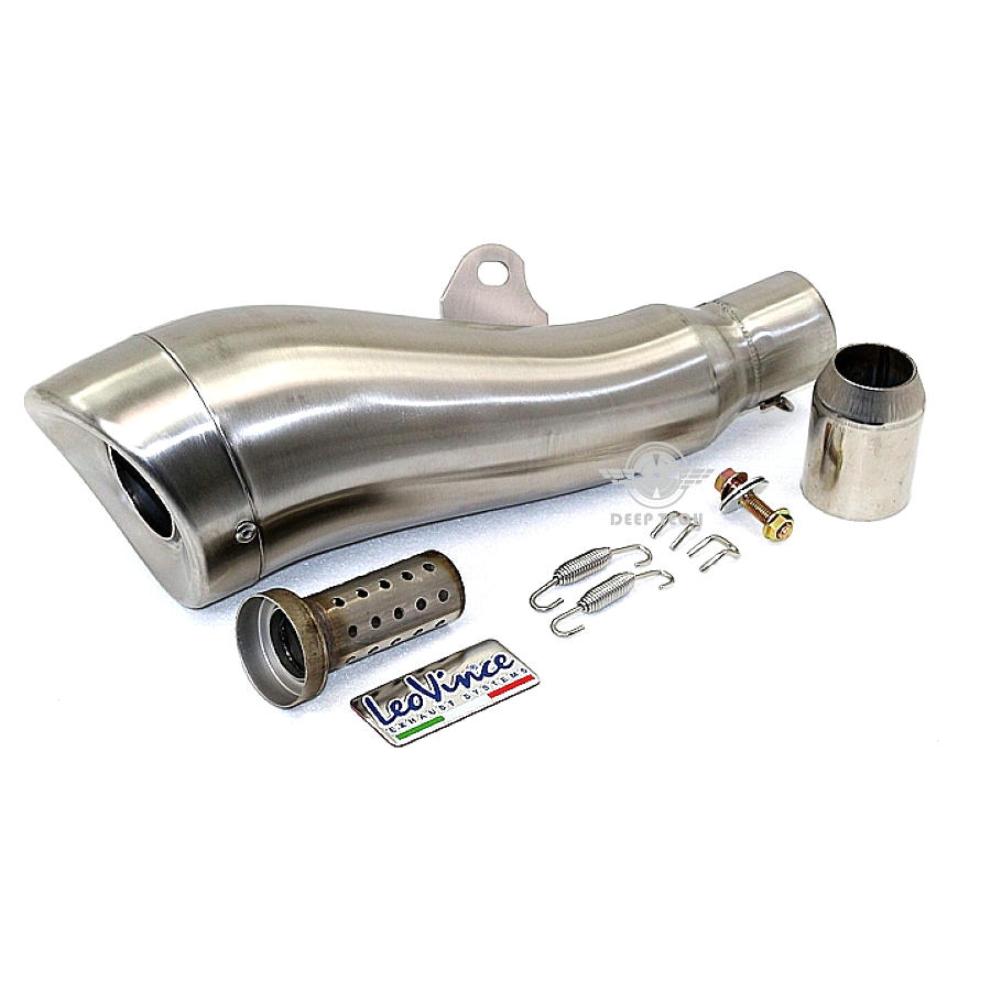 51MM Inner Dia Scooter Exhaust Muffler Leovince Motorbike Muffler Exhaust Pipe Motorcycle Exhaust Pipe For GTS 300