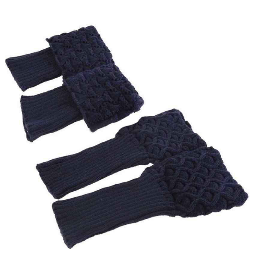 Vrouwen Dames Winter Haak Boot Manchetten Shell Knit Toppers Boot Sokken Beenwarmers Nieuwe Mode Verbazingwekkende Hot effen been waemers