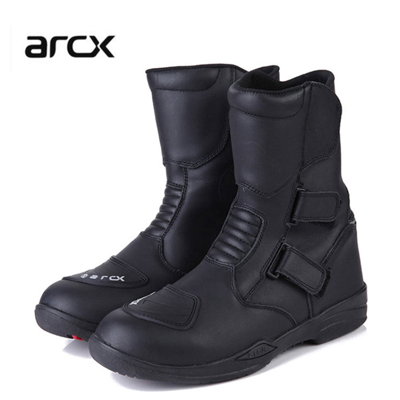 Men's motorcycle boots arcx waterproof protection motorcycle racing motocross boots cruiser long-distance travel shoes interplay between dna replication and repair