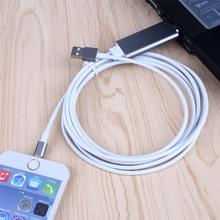 HDTV 2M Cable 8 Pin light USB to HDMI HD1080P Adapter AV for iPhone 5 5S 6 6 plus 6S Plus for ipad Support TV CT034s