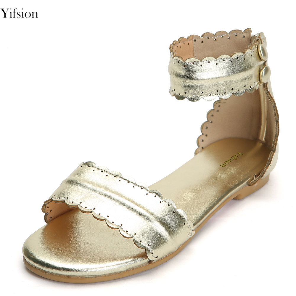 Olomm New Women Sandals Ladies Gladiator Shoes Square Low