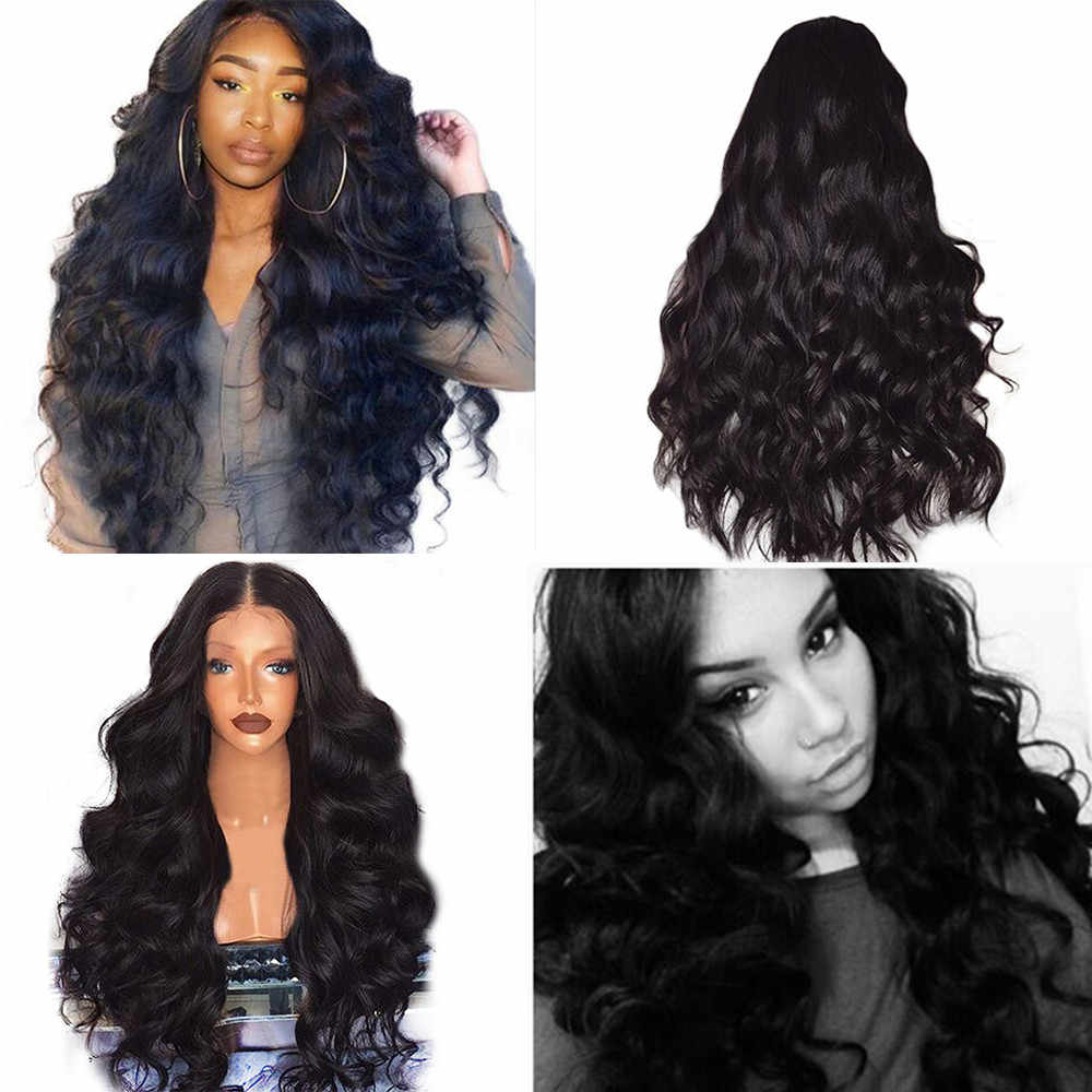 8bfe7cab6 Wholesale Brazilian Remy Human Hair Body Wave Lace Front Human Hair Wigs  Styling Accessories lace front