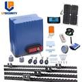 800 kg heavy duty elektrische getriebe motoren automatische schiebe tor opener con solar panel + controller + racks-in Zugangs Control Kits aus Sicherheit und Schutz bei