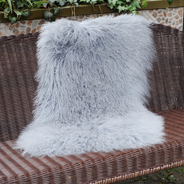 CX D 40H Real Fur Mongolian Lamb Fur Throw Blankets And Carpets For Impressive Real Mink Throw Blanket