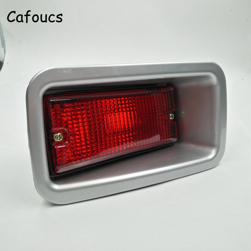 Cafoucs Car Fog Light For Toyota Highlander 2009 2010 2011 Rear Bumper Lamp 81590-0F030 car modification lamp fog lamps safety light h11 12v 55w suitable for mitsubishi triton l200 2009 2010 2011 2012 on