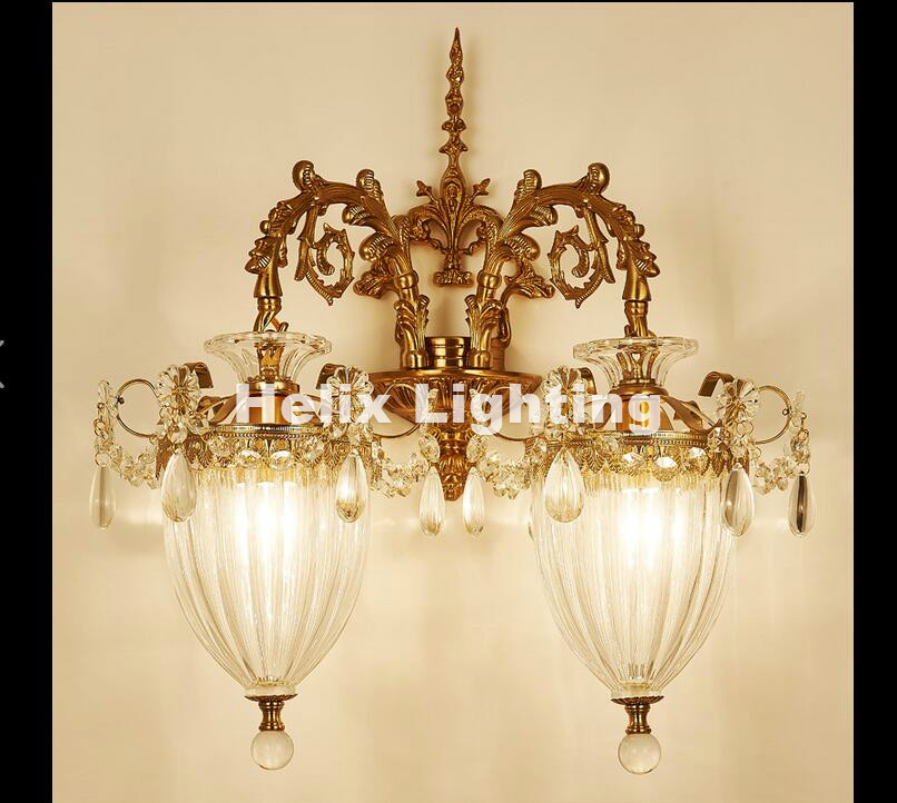 Lights & Lighting Honey Fashion Crystal Wall Sconce Modern Led Wall Light Fixtures For Home Bedroom Bedside Wall Lamps Lamparas Pared Arandela 2019 New Fashion Style Online