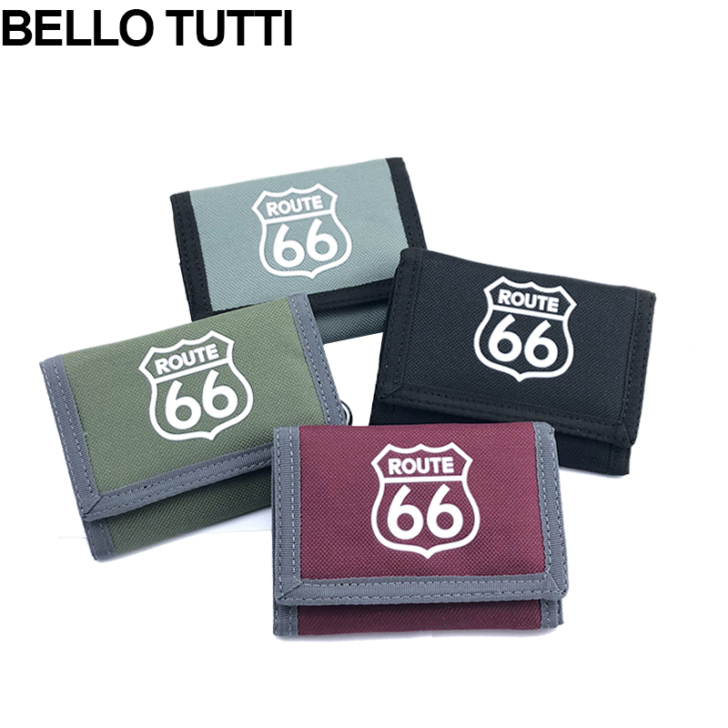 BELLO TUTTI Men Wallets Hasp Canvas Male Purse Short Wallet High Qaulity ID Cards Holder Money Bags Clutch Coin Purse Pocket