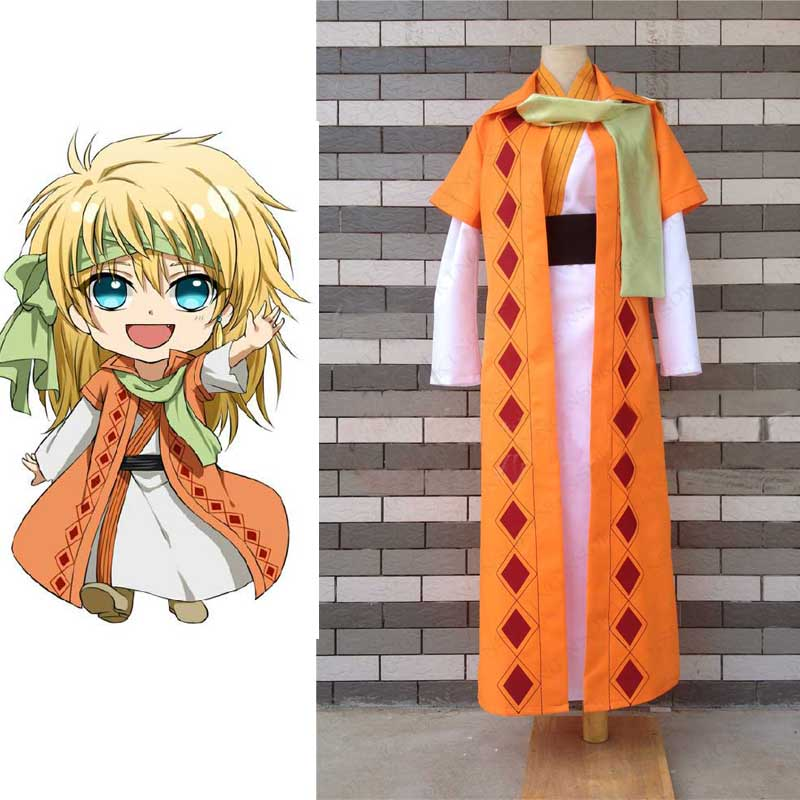 Одежда для боев Akatsuki no Yona Zeno, желтый костюм дракона для косплея, на заказ