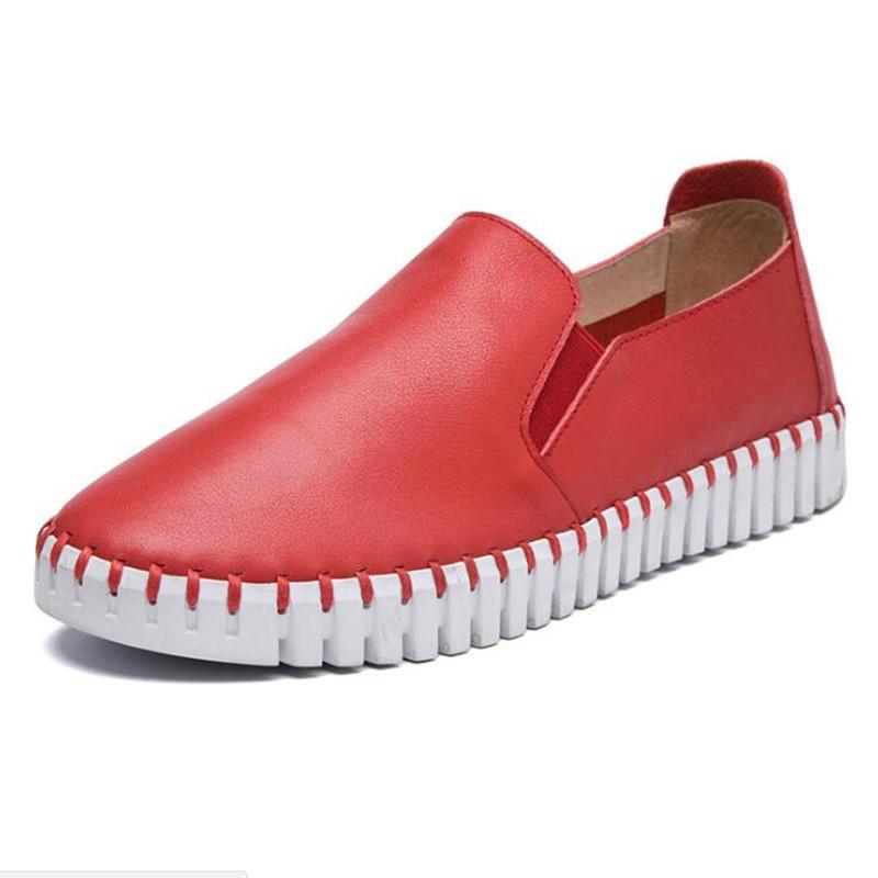 3 18 15 6 4 Rouge Femmes 13 Appartements Rond 2018 5 En Sneakers 14 9 17 Pour Printemps Mocassins Bateau Chaussures 1 11 Bout 7 Cuir 2 12 16 8 Oxford 10 gxFSqw