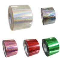 New Fashion 10 Styles Nail Foil Roll 120m*4cm Glitter Rainbow Color Transfer Nail Foil Rolls Universe Nail DIY Materials
