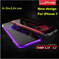 Colorfull luphie de metal bumper case para a apple iphone 7 plus prismatic forma moldura de alumínio de aviação de metal capas para iphone7 4.7