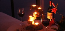 Romantic Wedding candlestick Decor wooden Candle Holder Candlestick Table Fashion Candelabra Home Decoration