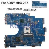 Placa-mãe do portátil de kocoqin para sony sve171 sve1713d1 MBX-267 mainboard a1884315a S1204-2 48.4mr05.021 hm75 216-0833002 2g