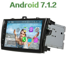 2GB RAM 16GB ROM Android 7.1.2 Quad Core Bluetooth Car Radio Player Stereo MP3 for Toyota COROLLA 2006 2007 2008 2009 2010 2011