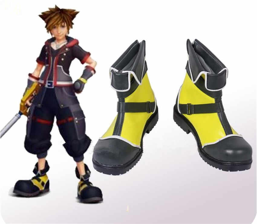 Обувь для костюмированной вечеринки в стиле аниме Королевство Сердец цвет