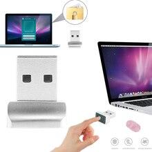 Leitor inteligente de impressão digital usb, id para windows 10 32/64 bits, senha livre de login/bloqueio de sinal/sensor de scanner para desbloqueio de pc e laptops