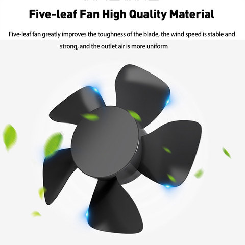 12V/24V Car Auto Air Cooling Fan 2 Speed Adjustable Dual Head Fan Low Noise Car Auto Cooler Air Fan Caravans Car Fan Accessories Multan