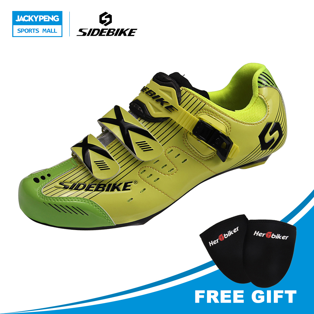 SIDEBIKE Riding Cycling Shoes Road Cycle Sneakers Breathable Shoes patillas Men Sport Chaussures Biking Shoes Sport Green peak sport speed eagle v men basketball shoes cushion 3 revolve tech sneakers breathable damping wear athletic boots eur 40 50