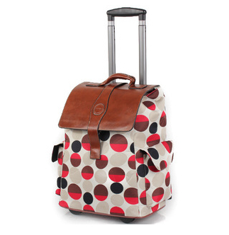 New 20inch Carry On Luggage Oxford Waterproof Wheeled Quilted Rolling Underseat Tote Trolley Travel Bag In Ons From Bags Aliexpress