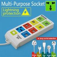 multi USB socket with 3Meter 10Ft