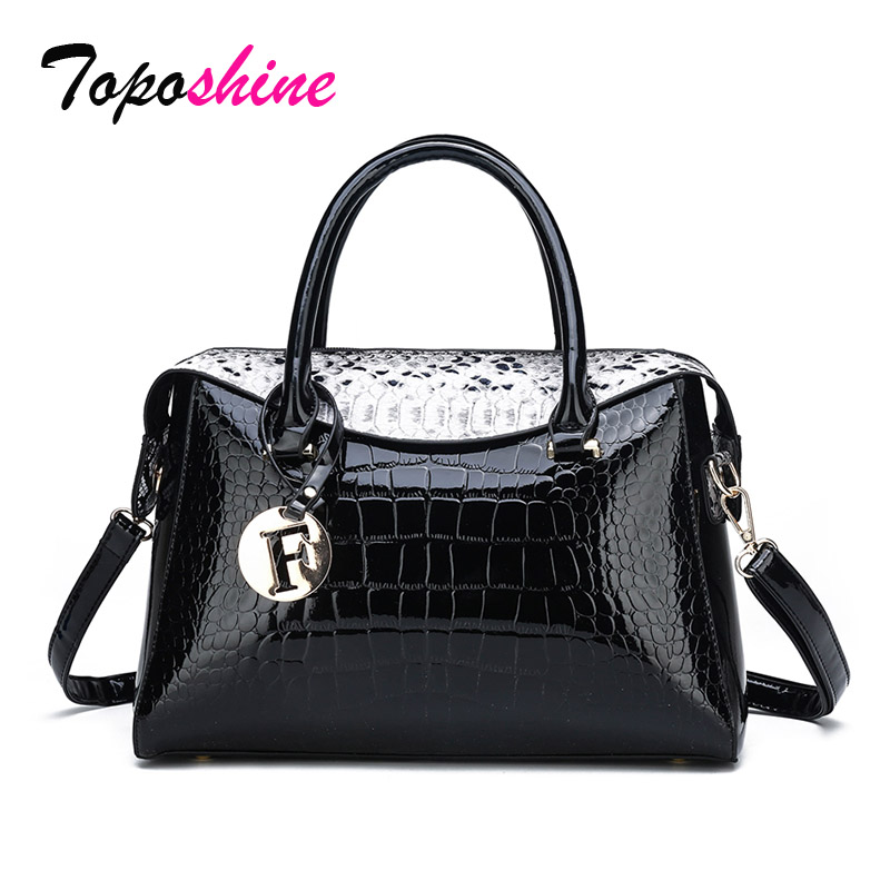 Bag Black Messenger-Bag Hand-Bags Big Tote Fashion PU Women Sac Bols Lady