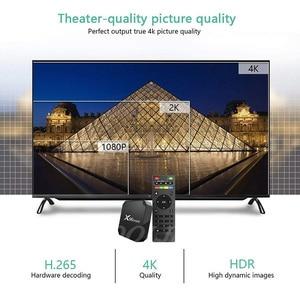 Image 3 - X96 mini TV BOX Android 7.1 OS WiFi Smart TV Box 2GB 16GB Amlogic S905W Quad Core Set top box 1GB 8GB X96mini Media Player