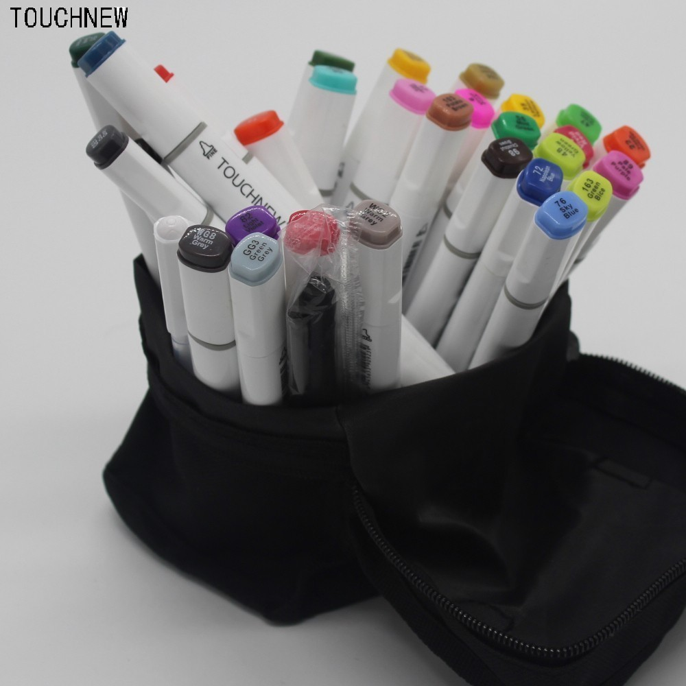 TOUCHNEW six generations mark pen oily anime hand-painted design 30 36 72 colors art fine markers manga dessin draw drawings touchnew six generation alcohol oily mark pen 30 36 40 color oil based students hand painted suits fine markers drawings manga