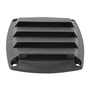 Image 3 - 3 Polegada preto plástico louvered aberturas ventilação marinha ventilação para barco iate acessórios de ventilação de ar 8.5cm * 8.5cm * 2.5cm