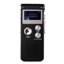 Venta caliente Del Envío Libre y Al Por Mayor! NC1888 Unidad USB Recargable 8 GB de Audio Digital Grabadora de Voz Del Dictáfono MP3 Player EE. UU.