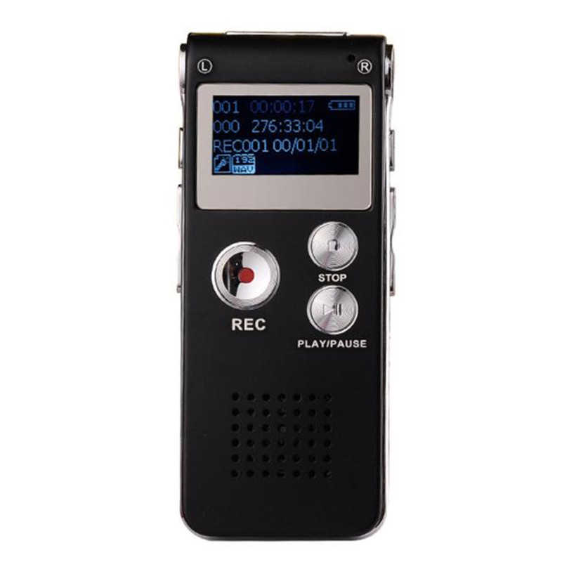 Hot sale NC1888 8GB Digital Audio Voice Recorder Rechargeable Dictaphone USB Drive MP3 Player US