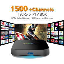 Octa base Android Arabe IPTV BOÎTE T95RPRO Livraison 1500 Europe Arabe IPTV Canaux S912 2 GB/8 GB TV Box KODI WIFI H265 Media Player
