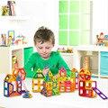 Mini Designer de Brinquedos Magnéticos 88 PCS Magnético Blocos de construção de Brinquedos Criativos Para Crianças Aprendizado & Educação presentes de natal