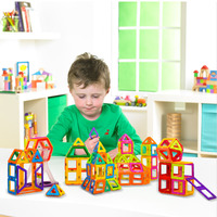Mini Magnetic Designer Toys 88PCS Creative Toys For Children Learning Education Magnetic Blocks
